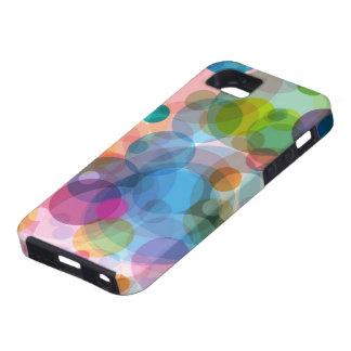 Colorful Circles iPHONE tough Case