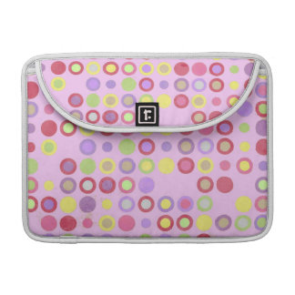 Colorful Circles Macbook Pro Sleeve