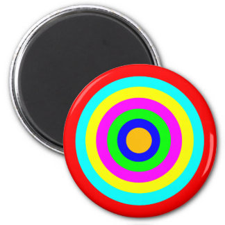 Colorful Circles Magnet