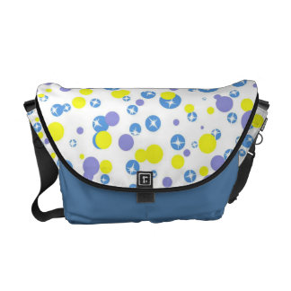 Colorful Circles Messenger Bag