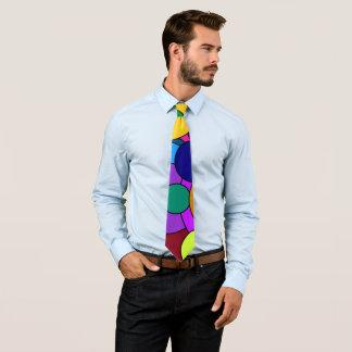 Colorful Circles Neck Tie