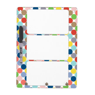 colorful circles of color in pastel Dry-Erase board