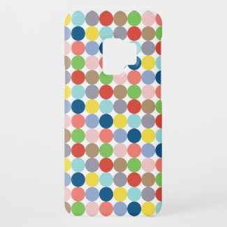 colorful circles of pastel color... Case-Mate samsung galaxy s9 case