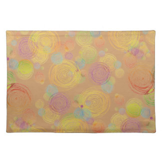 Colorful circles Placemats