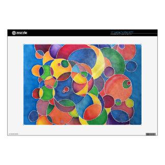 Colorful Circles Skin Laptop Decals