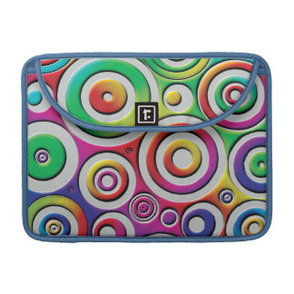 Colorful Circles Sleeve For MacBooks