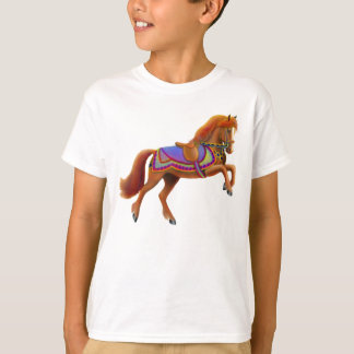 Colorful Circus Horse Kids T-Shirt