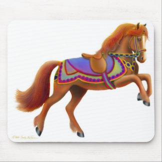 Colorful Circus Horse Mousepad
