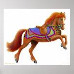 Colorful Circus Horse Print