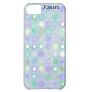 Colorful Cirlces Cover For iPhone 5C