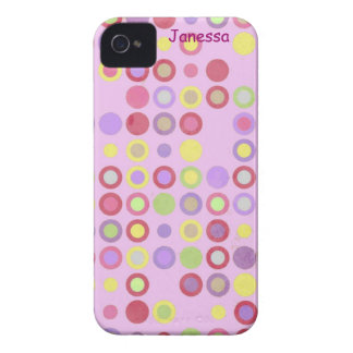 Colorful Cirlces iPhone Case