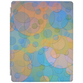 Colorful Cirlcles Abstract Art iPad Cover