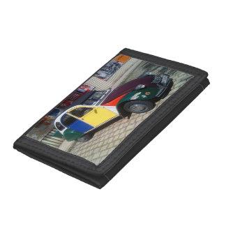 Colorful Citroen 2 CV Trifold Wallet