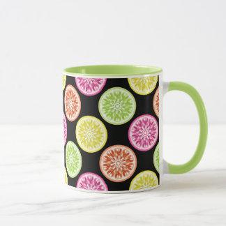 Colorful Citrus Slices Mug