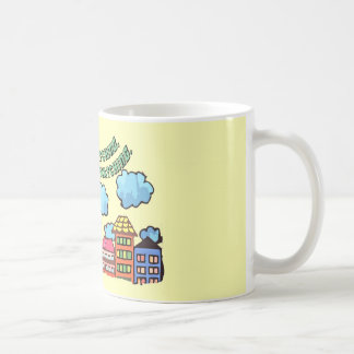 Colorful City Coffee Mug