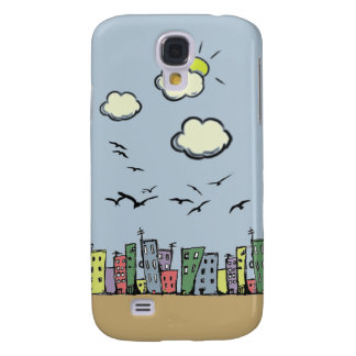 Colorful City Samsung Galaxy S4 Cover