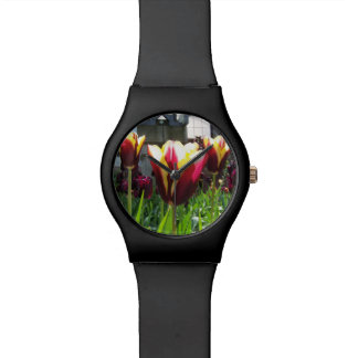 Colorful City Tulips Watch