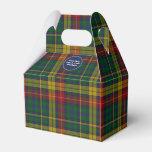 Colorful Clan Buchanan Plaid Event Favor Gift Box Favor Boxes