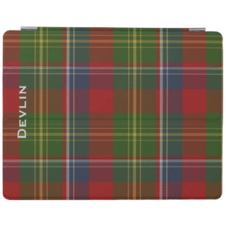 Colorful Clan Forrester Custom Plaid iPad Cover
