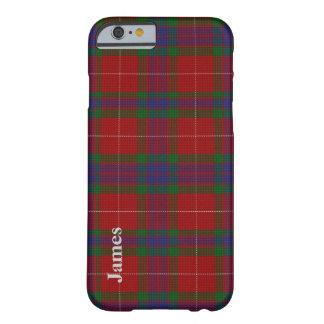 Colorful Clan Fraser Tartan Plaid iPhone 6 case