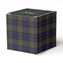 Colorful Clan MacLellan Plaid Favor Gift Box