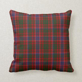 Colorful Clan MacRae Tartan Plaid Pillow
