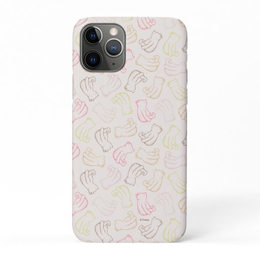 Colorful Classic Pooh Pattern iPhone 11 Pro Case