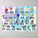 Colorful Classroom ABC Alphabet Poster