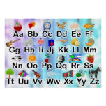 Colorful Classroom ABC Alphabet Poster