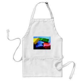 Colorful Clay Adult Apron