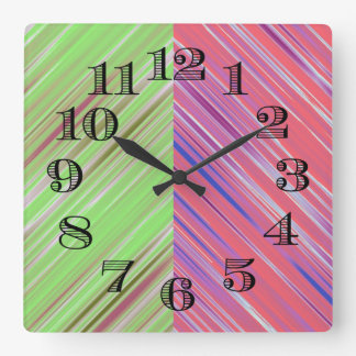 Colorful Clock Design