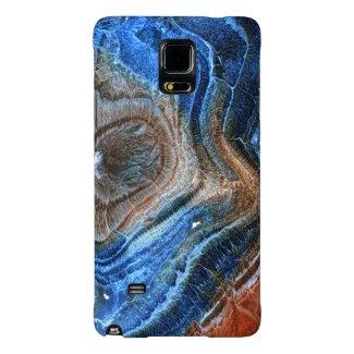 Colorful Closeup Mineral Stone Nacre Galaxy Note 4 Case