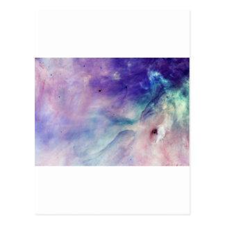 Colorful Clouds Postcard