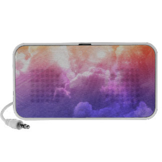 Colorful Clouds Travelling Speakers
