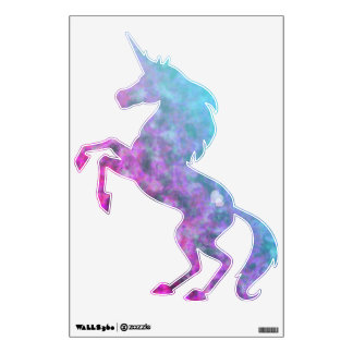 Colorful Clouds Unicorn Wall Sticker