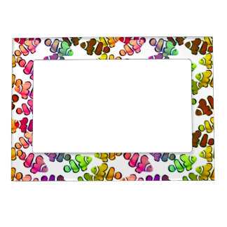 Colorful Clown Anemone Fish Magnetic Frame