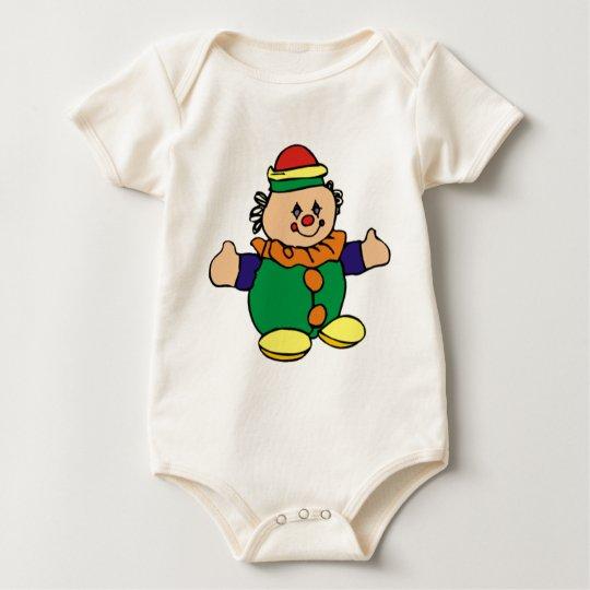Colorful Clown Baby Bodysuit