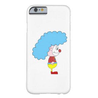 Colorful Clown Cartoon. Blue Hair. iPhone 6 Case