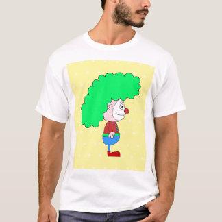 Colorful Clown Cartoon. T-Shirt