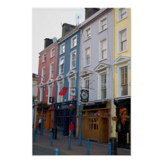 Colorful Cobh Poster