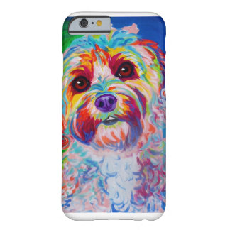 Colorful Cockapoo Design Barely There iPhone 6 Case