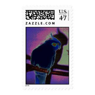 Colorful Cockatiel Postage