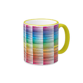 Colorful Coffee Mug - Choose your accent and style