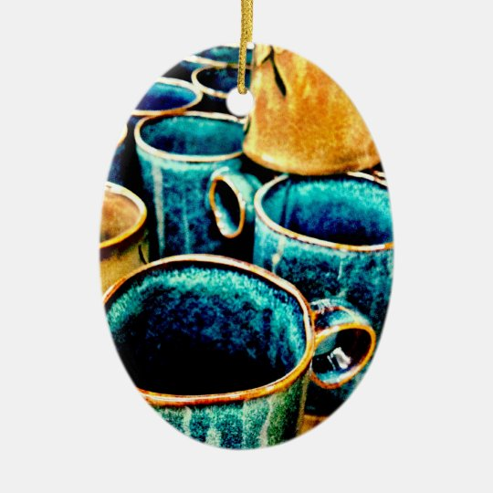 Colorful Coffee Mugs Gifts for Coffee Lovers Ceramic Ornament