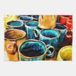 Colorful Coffee Mugs Gifts for Coffee Lovers Hand Towel