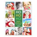 COLORFUL COLLAGE | HOLIDAY PHOTO CARD CUSTOM INVITE