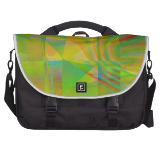 Colorful Collage No. 3 by Tutti Laptop Bag