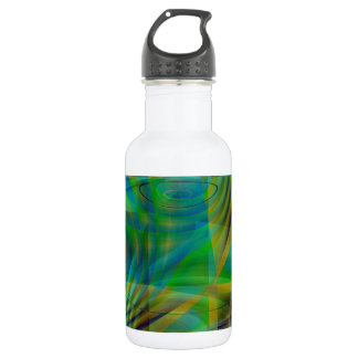 Colorful Collage No. 4  by Tutti Stainless Steel Water Bottle