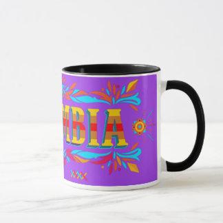 Colorful Colombian mug