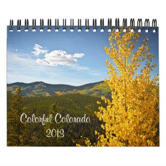 Colorful Colorado 2013 Calendar